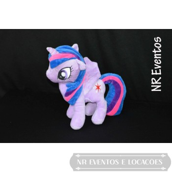 My Little Poney - Twilight Sparkle (Roxa, lilas e Pink)