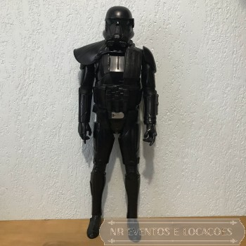 Star Wars Boneco Shadow Stormtrooper 48cm (A) x 16cm (L)
