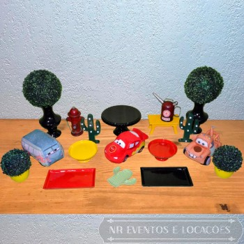 Carros Disney - Kit 1