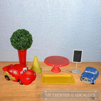 Carros Disney - Kit 3