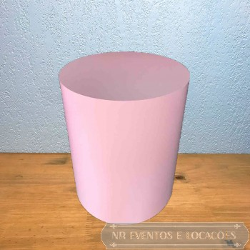 Cilindro Rosa Baby M2 - 60cm (A) x 50cm (D) Grosso